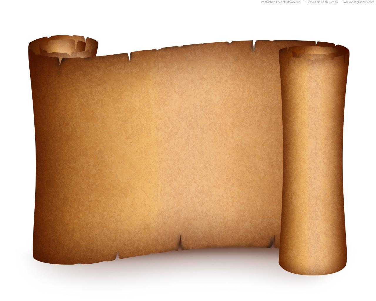 Paper clipart vector art Paper jpg Scroll Clipart Art