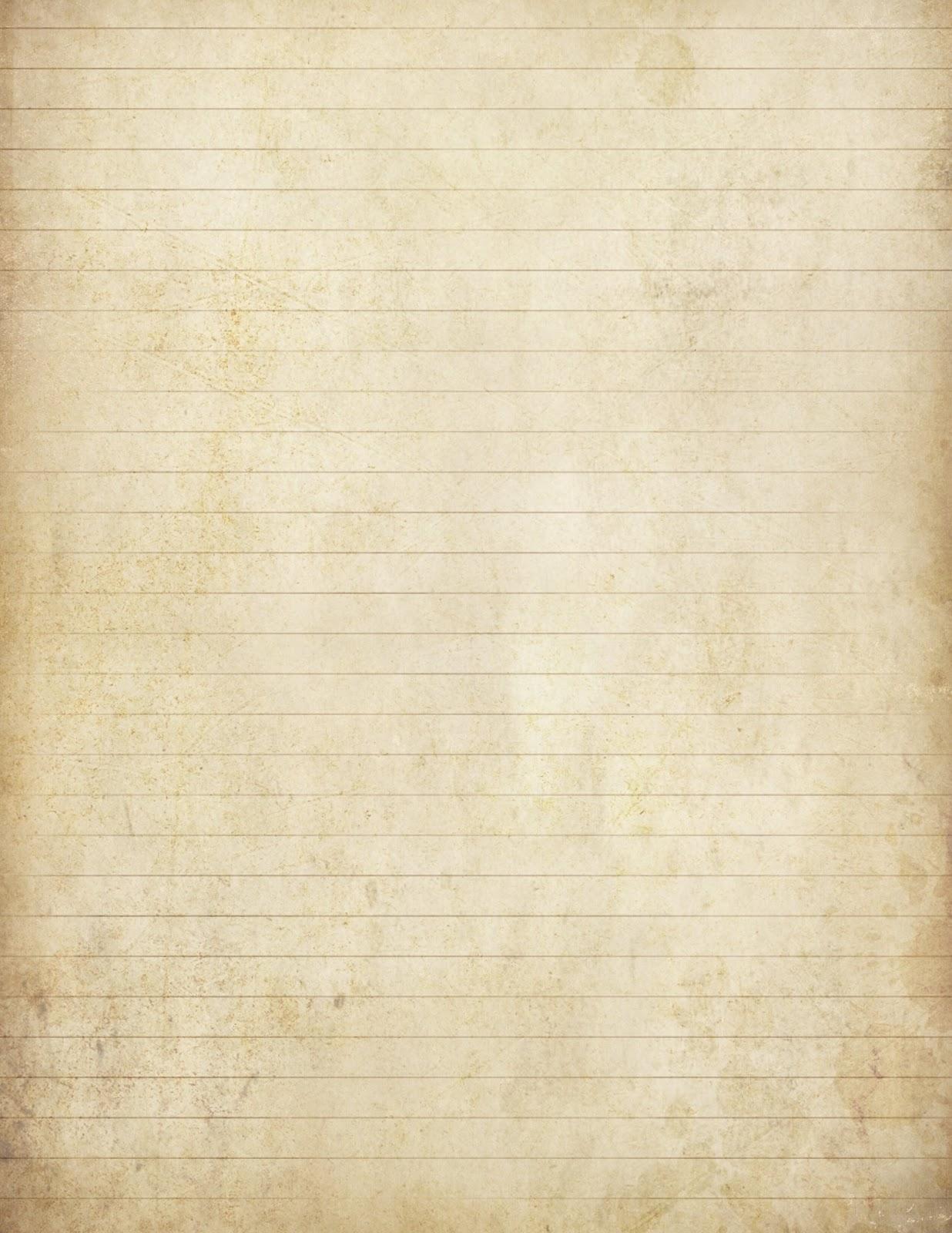 Old Letter clipart paper sheet Paper I  paper completing