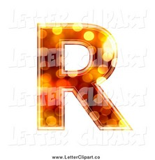 Old Letter clipart rolled Letter English letter capital Old