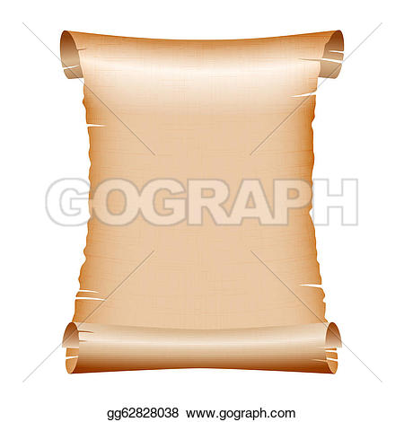 Scroll clipart sannasa Paper · on old GoGraph
