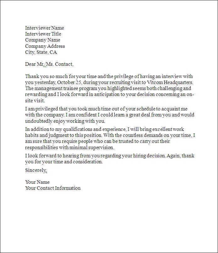 Old Letter clipart thank you letter Is job Interview a Thank
