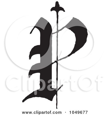 Old Letter clipart writing letter Calligraphy Free Royalty Calligraphy Letter