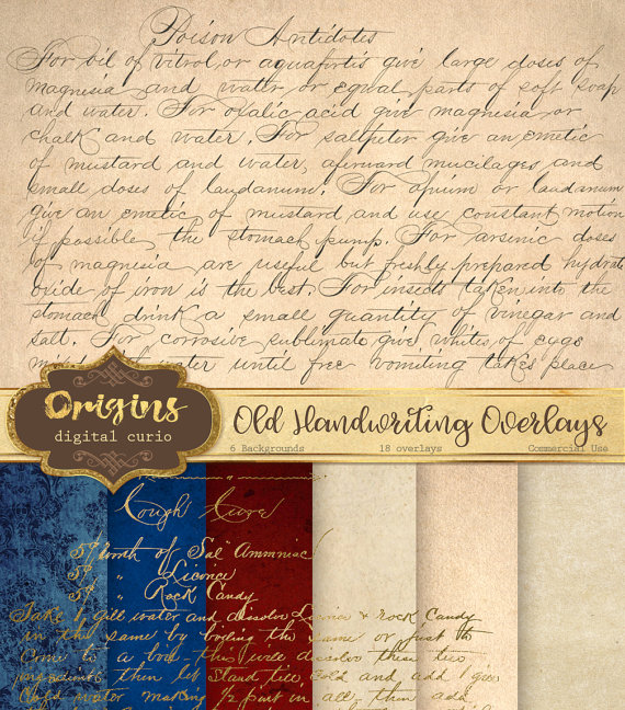 Old Letter clipart writing letter  old Old Handwriting Handwriting