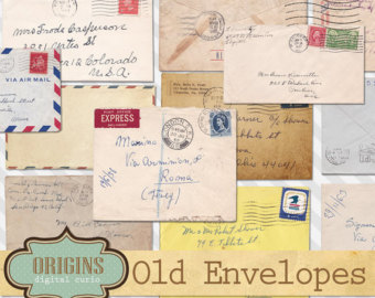 Old Letter clipart written letter Envelopes Clipart Old Textures Envelope