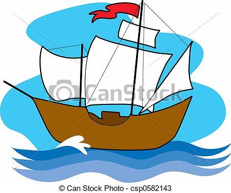 Old Sailing Ships clipart Drawings Old sailing csp0582143 Old