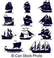 Old Sailing Ships clipart The ships Illustrations of Sailing