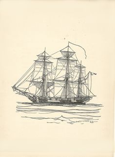 Old Sailing Ships clipart british Book on Capital  this