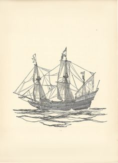Old Sailing Ships clipart patache 7
