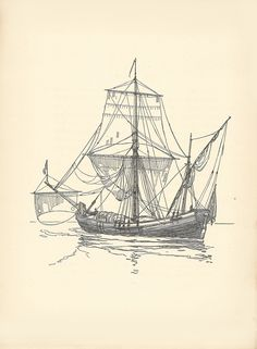 Old Sailing Ships clipart patache Print and 11