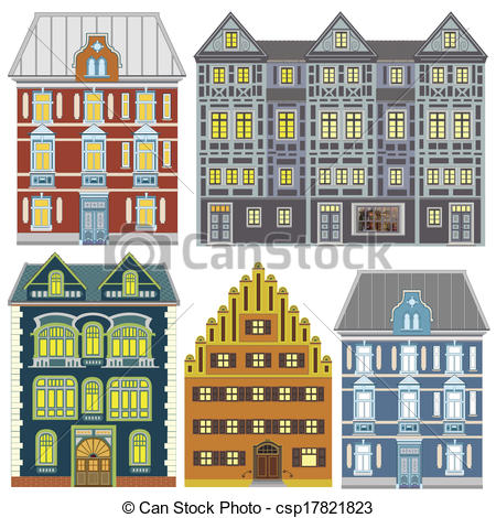 Old Town clipart europe #2