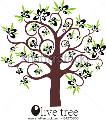 Olive clipart greek olive Tree olives of olives background