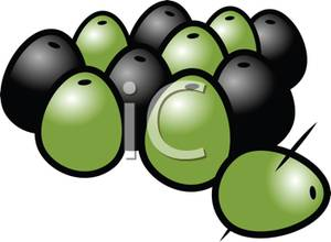 Olive clipart green olive Green Picture Olives Olives Clipart
