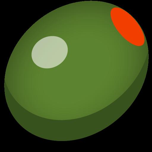 Olive clipart green olive Image PNG IconBug Olive com