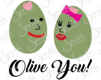 Olive clipart mediterranean food Cute Graphic Eps Clipart Etsy