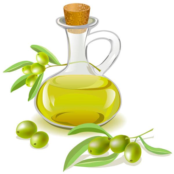 Olive Oil clipart cartoon Bottle Olive bottle download vector