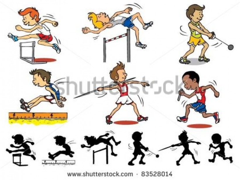 Olympic Games clipart Female download female kid athlete