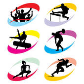Olympic Games clipart Royalty GoGraph icons Sport olympic
