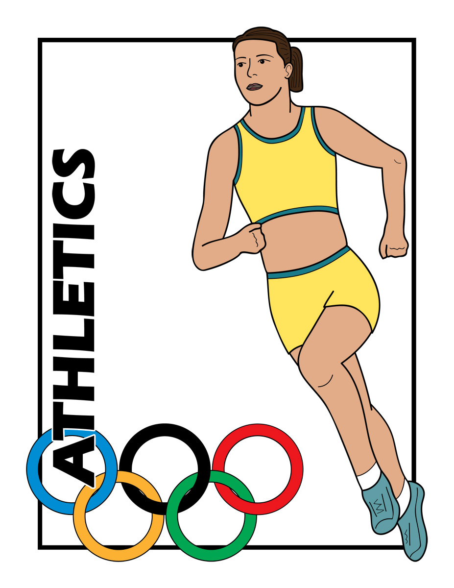 Olympic Games clipart athletics event Clipart athletics Tiny Athletics event