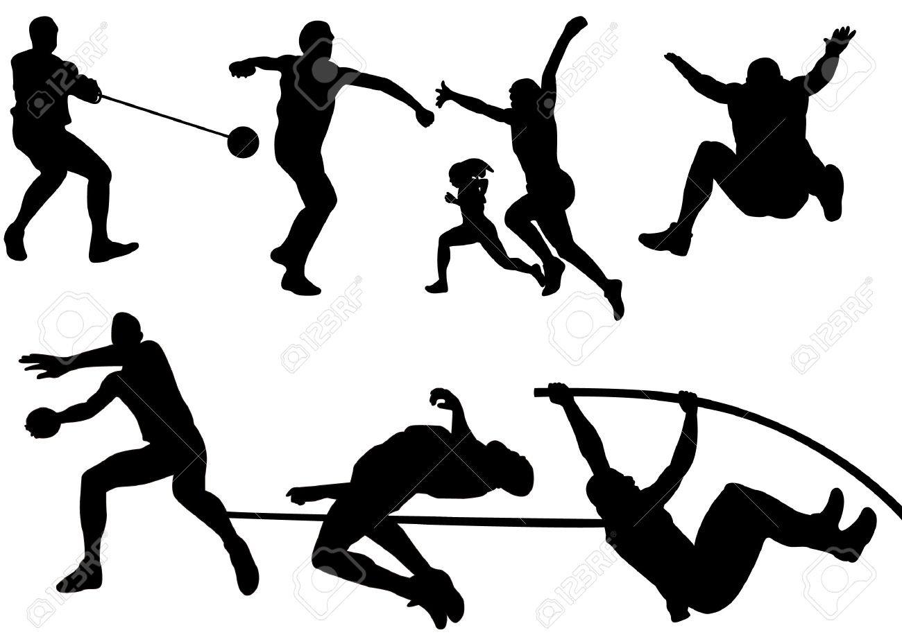 Olympic Games clipart athletics event Clipart Athletics Tiny #26 Clipart