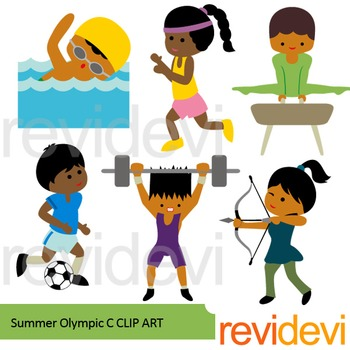 Olympic Games clipart lift weight #4