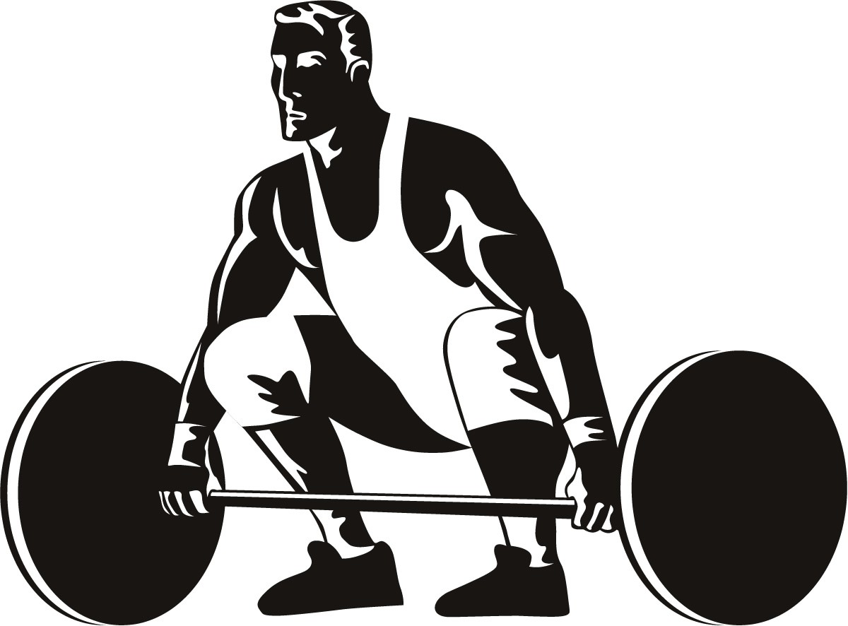 Olympic Games clipart lift weight #2
