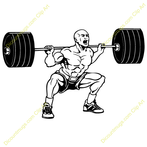 Olympic Games clipart lift weight #3