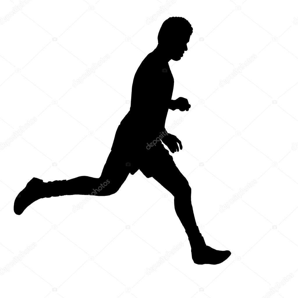 Olympic Games clipart runner #6