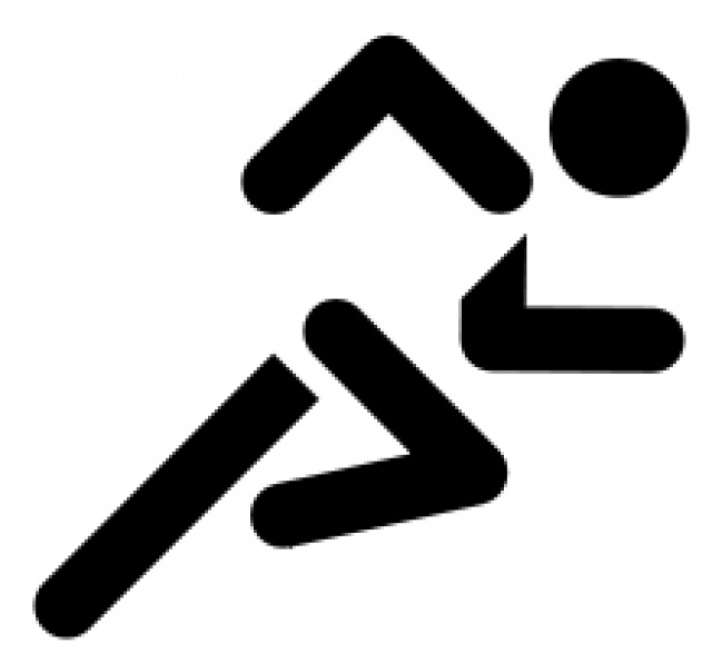 Olympic Games clipart runner #9