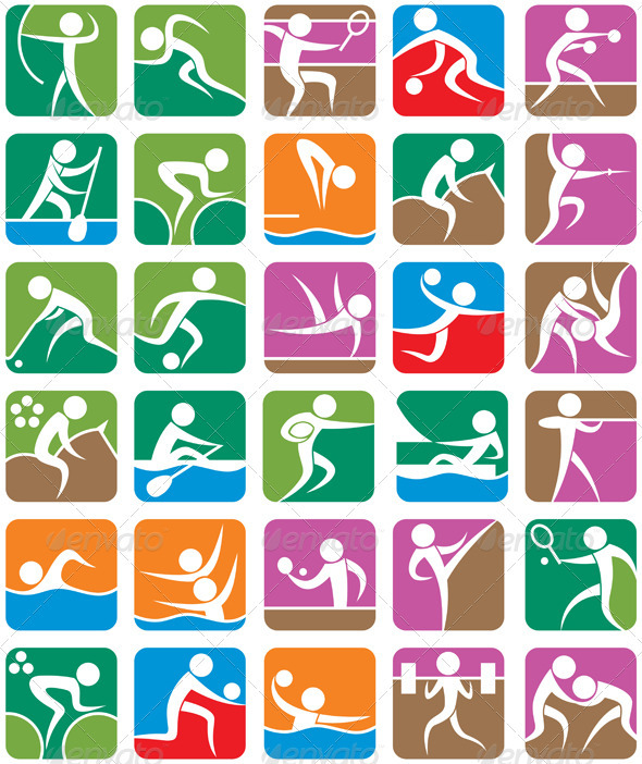 Olympic Games clipart sport logo #8