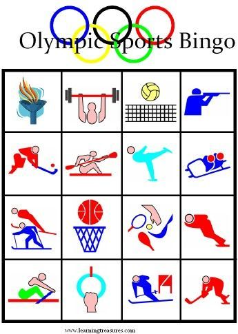 Olympic Games clipart sports day Olympic Boards Games best Printable