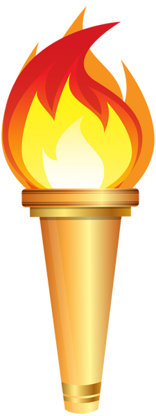 Torch clipart torch bearer Olympic Clip Art Art Torch