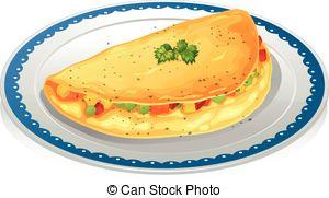 Omelette clipart Omelet Omelet of Omelet of