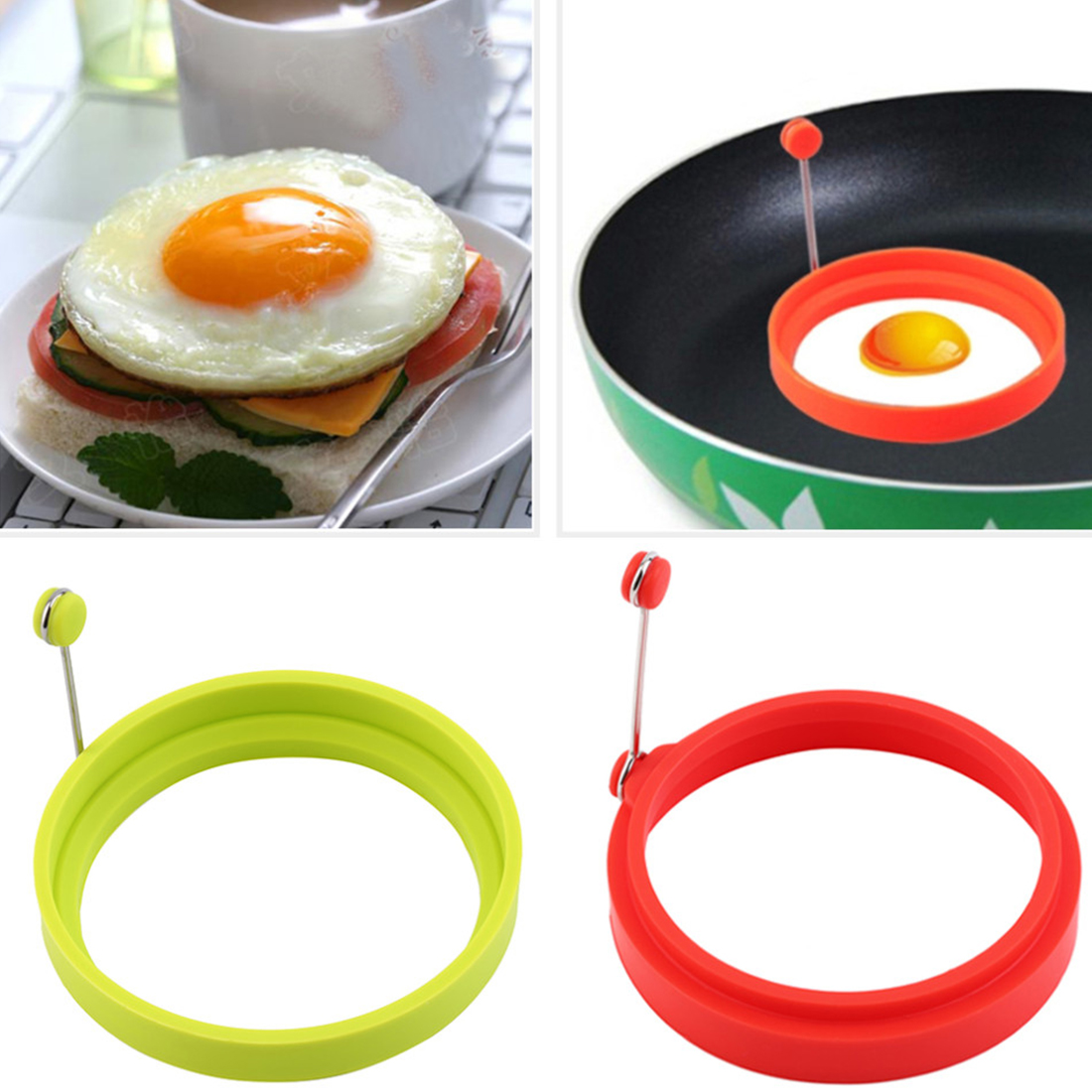 Omelette clipart hot frying pan For Eggs Get Round Omelette