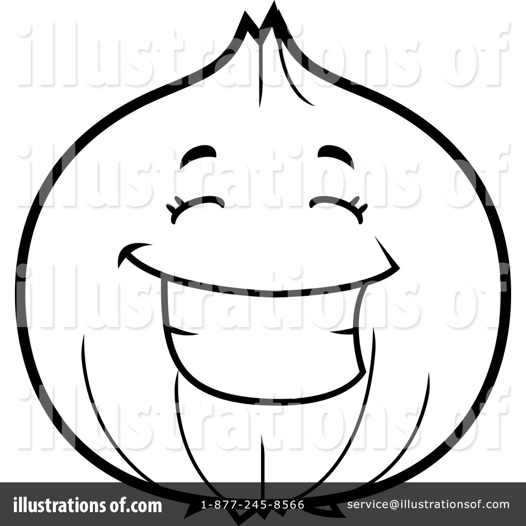 Onion clipart outline Free by Illustration by Royalty