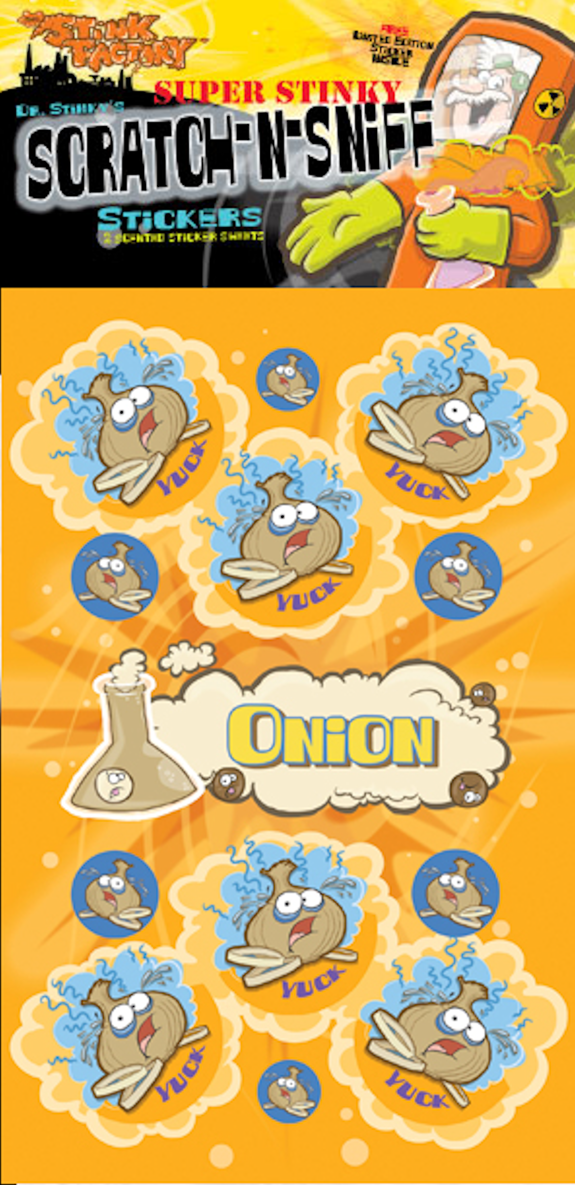 Onion clipart stinky Stickers Dr Sniff Dr N