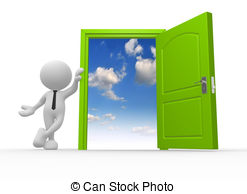 Open clipart Man 3d vector Illustrations a