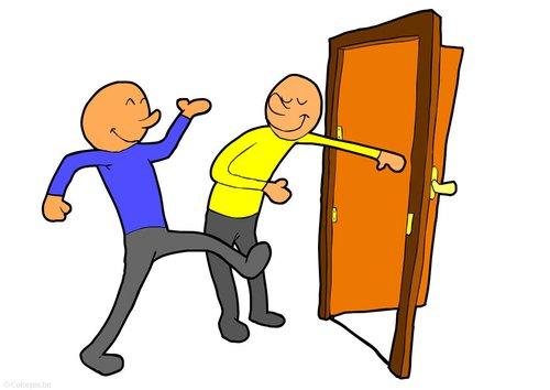 Open clipart act Door (52+) holding open of