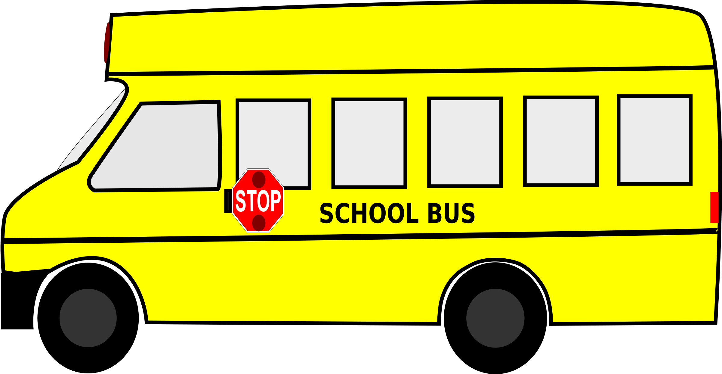 Open clipart things Clipart School (PNG) BIG Bus