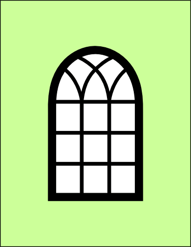 Windows clipart arched window Window and frame Arched and