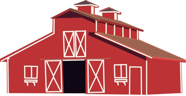 Barn clipart barn door On Free Free Clip