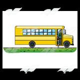 Open Door clipart bus Children Art door Bus entering