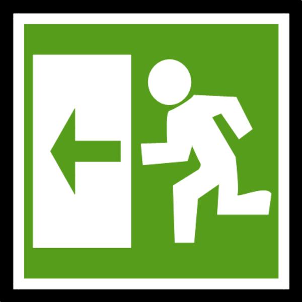Open Door clipart exit door #10