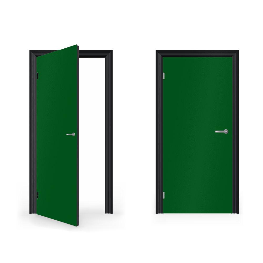 Open Door clipart green DoorWrapMatte Green DoorWrap Matte Bedroom
