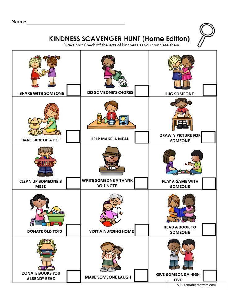 Open Door clipart kindness Kids Be Teaching Hunt: Random
