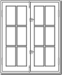 Open Door clipart kitchen window Things French windows Inspire: FrenchCasementL[1]