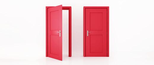 Open Door clipart red The Open Shut As Closed