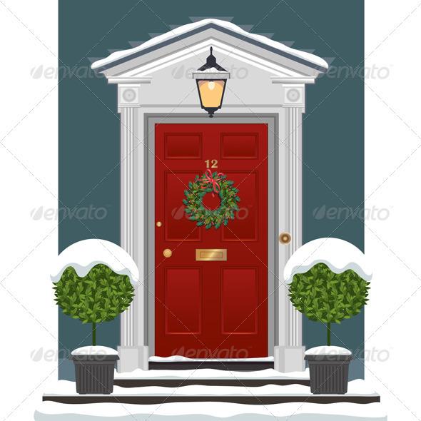 Open Door clipart red With Doors] Door Welcome Door