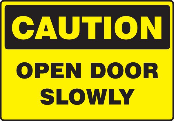 Open Door clipart slowly Vector clip Clker Open this