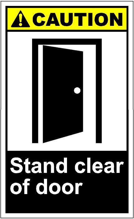 Open Door clipart slowly Eps stand cautV270 SAi Art