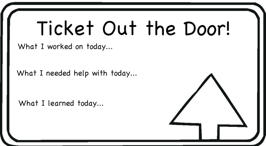 Open Door clipart ticket out The Clipart Out an Ticket